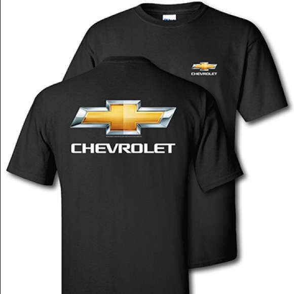 Chevrolet Bowtie Black T-Shirt NWT